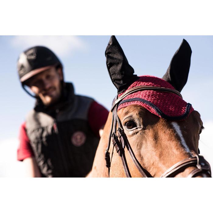 Vliegenmuts ruitersport voor paarden Riding rood