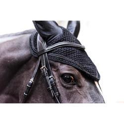 Vliegenmuts ruitersport voor paarden Riding zwart
