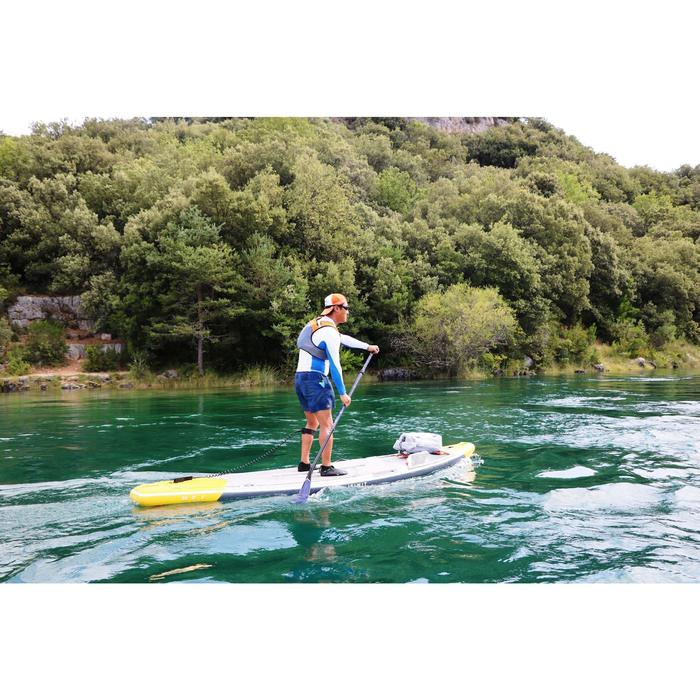 "STAND UP PADDLE GONFLABLE RANDONNEE COURSE 500 / 12'6-32"" JAUNE - 1283326"