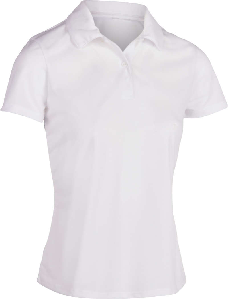 WOMEN WARM CONDITION RACKET SP APAREL Squash - Women's Polo Shirt Dry 100 ARTENGO - Squash Clothing