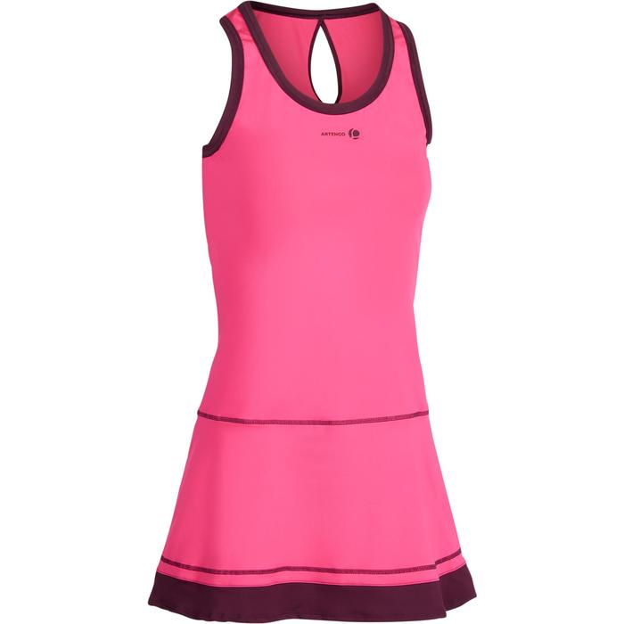 ROBE DE TENNIS SOFT ROSE 500 - 1283339