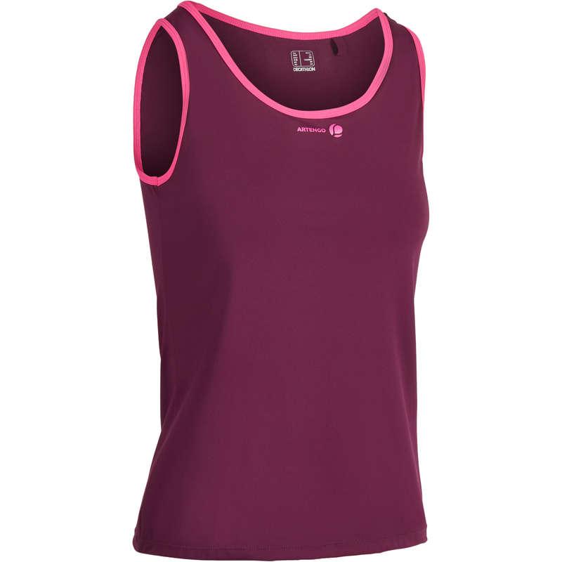 Îmbrăcăminte respirantă damă Sporturi cu racheta - Maiou Soft 500 Damă  ARTENGO - Imbracaminte padel