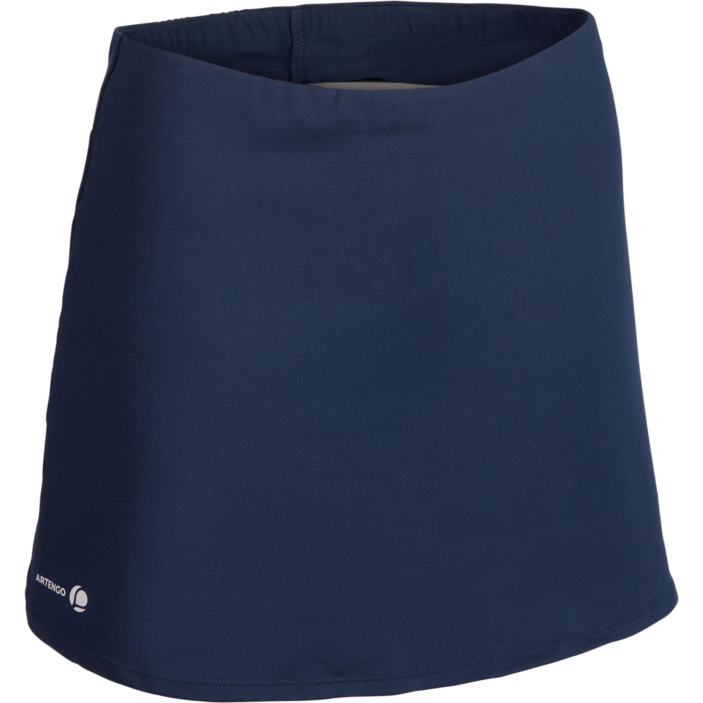 Essential Women's Tennis Badminton Table Tennis Padel Squash Skirt - Navy