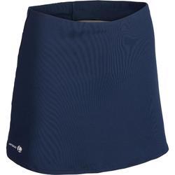 Tennisrokje Essential 100 marineblauw