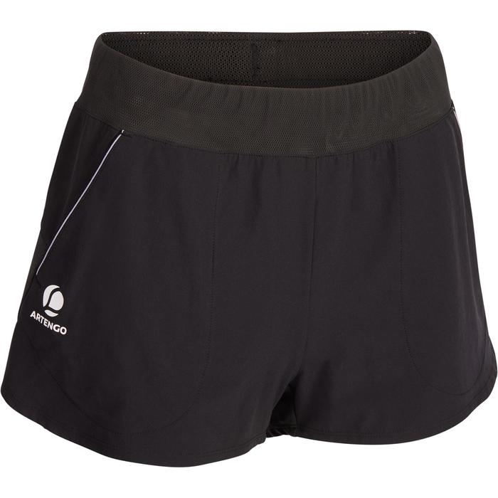 Shorts SH Soft 500 Tennis Damen schwarz
