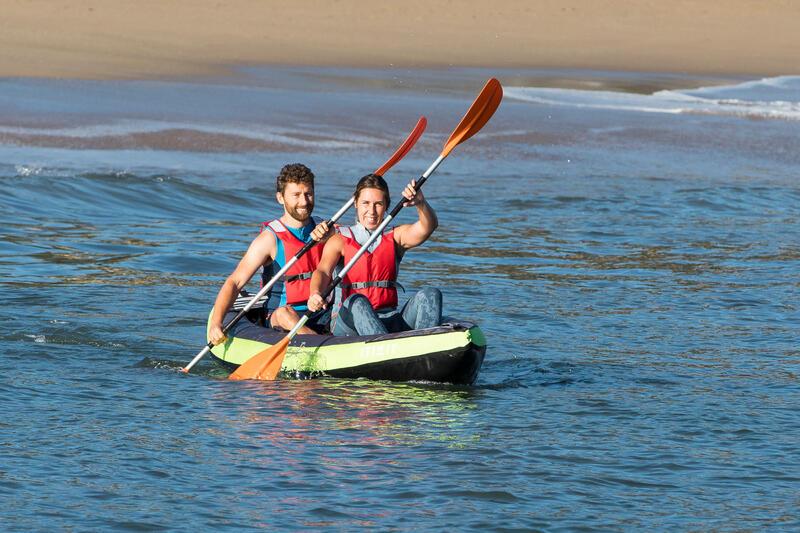 X100 2-Part Adjustable Symmetrical Kayak Paddle