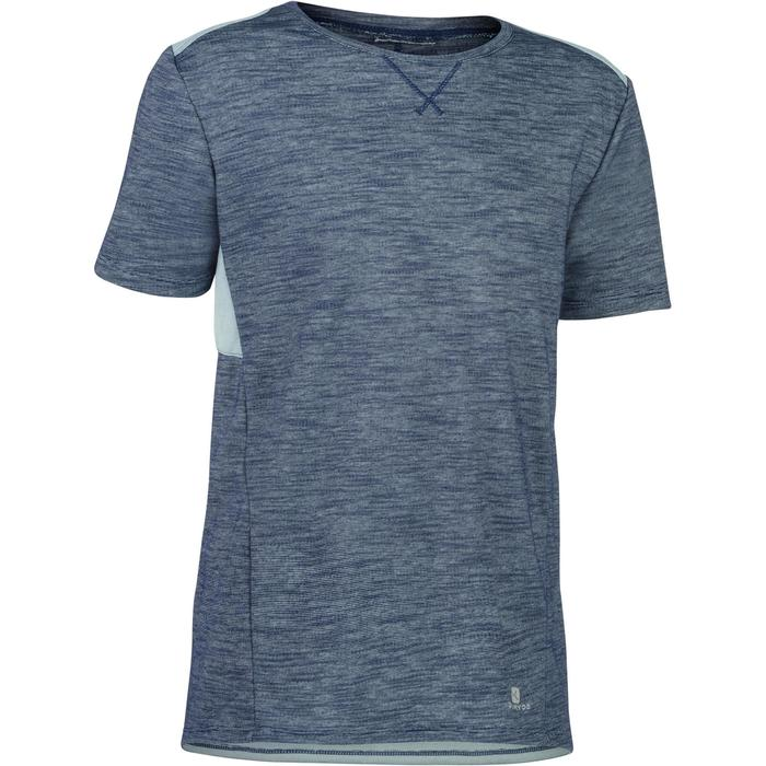 T-Shirt 500 manches courtes Gym garçon - 1283390