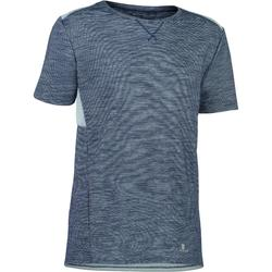 T-shirt 500, korte mouwen, gym, voor jongens