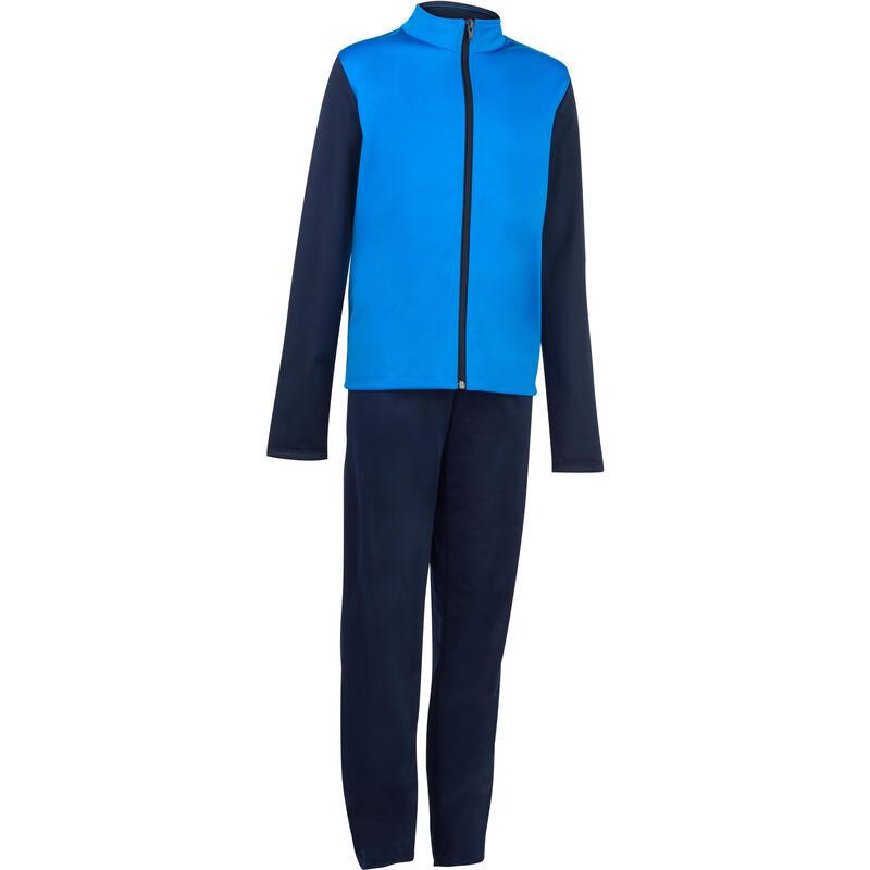dfd7023d0 Chándal Gym y gimnasia niño azul