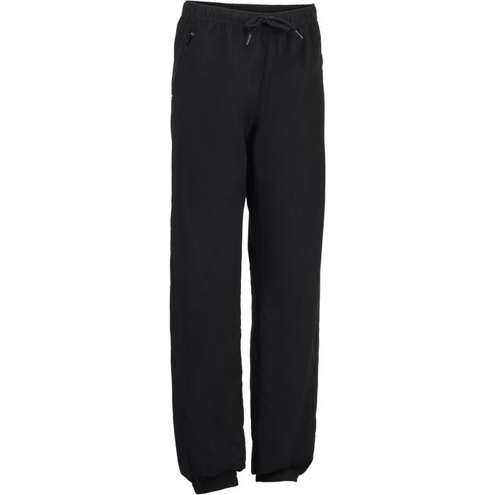 Pantalon léger S500 Gym garçon noir - 1283413