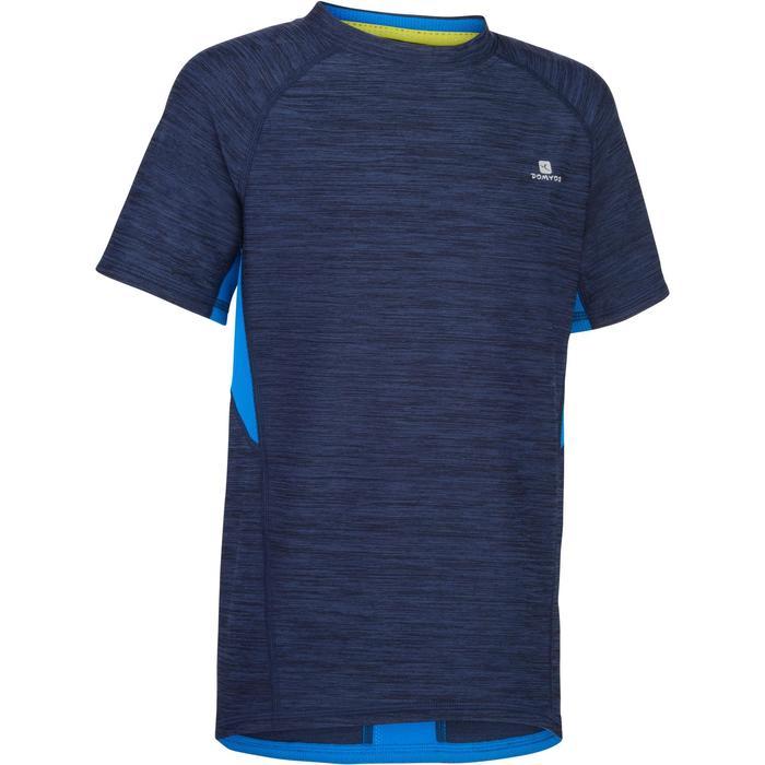 T-Shirt manches courtes S900 Gym garçon marine - 1283414