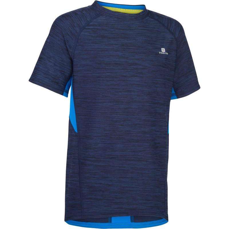 Ginástica FITNESS - T-shirt Ginástica S900 Azul DOMYOS - All Catalog