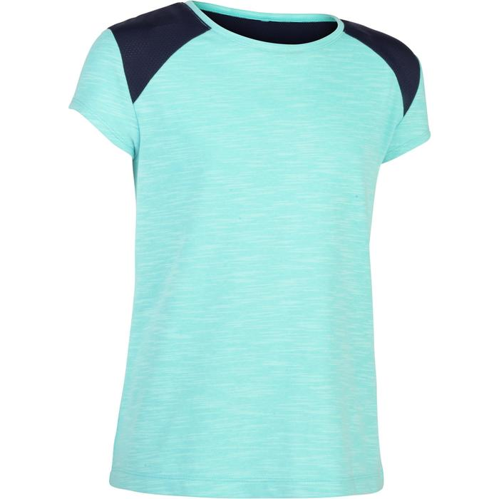 T-Shirt manches courtes 500 Gym fille - 1283417