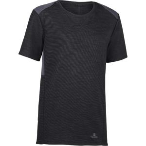 eccc827ba Camiseta MC 500 Gym gris negro