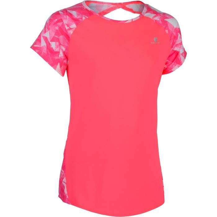 T-Shirt manches courtes S900 Gym Fille imprimé - 1283426