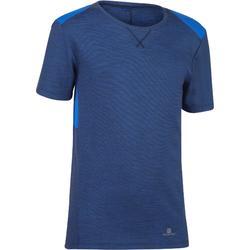 Gym T-shirt met korte mouwen 500 voor jongens