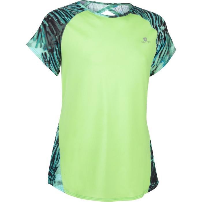 T-Shirt manches courtes S900 Gym Fille imprimé - 1283441
