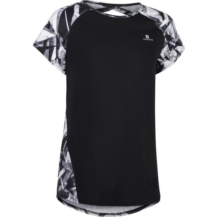 T-Shirt manches courtes S900 Gym Fille imprimé - 1283450