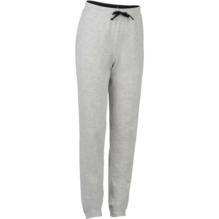 Jogginghose Slim 500 Gym Kinder hellgrau
