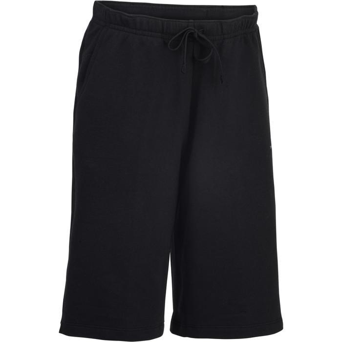 Short 500 Gym garçon marine - 1283462