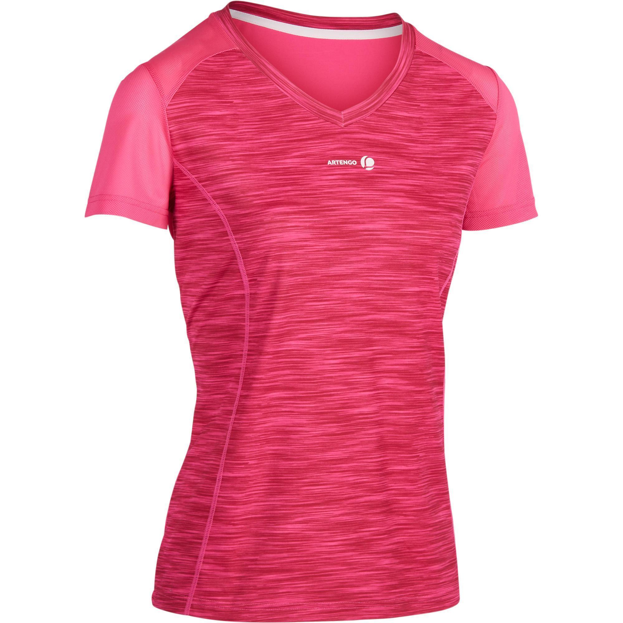 Soft 500 Women s Tennis T-Shirt - Mottled Pink  6e6e8a4a8