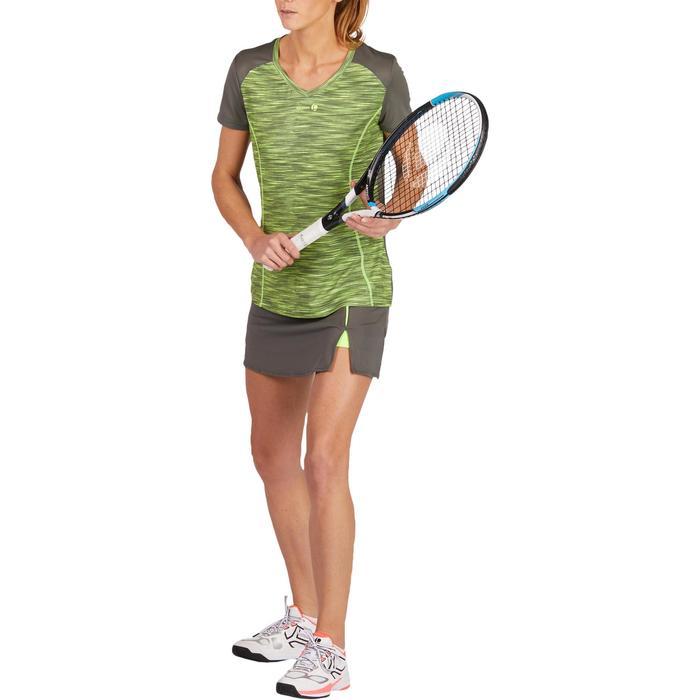 Tennisrock Soft 500 Damen kaki