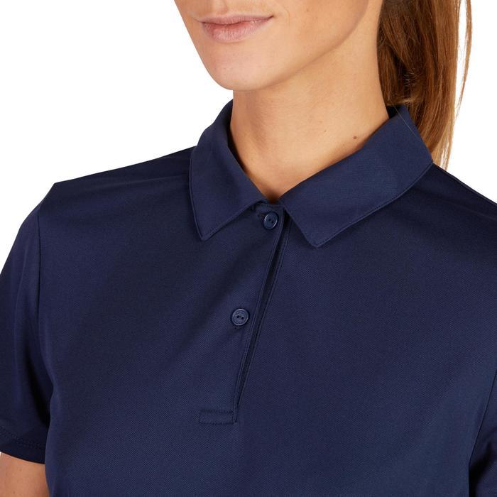 Poloshirt Essential 100 Damen marineblau