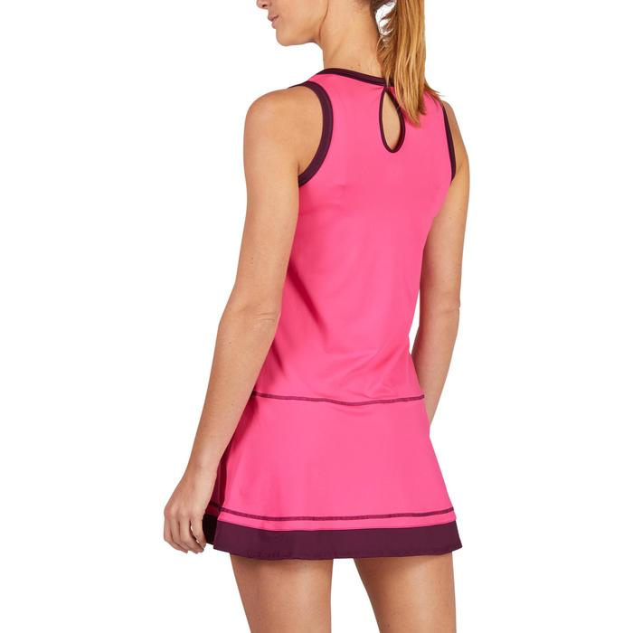 ROBE DE TENNIS SOFT ROSE 500 - 1283578