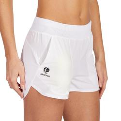 Tennisshort dames SH Soft 500 wit