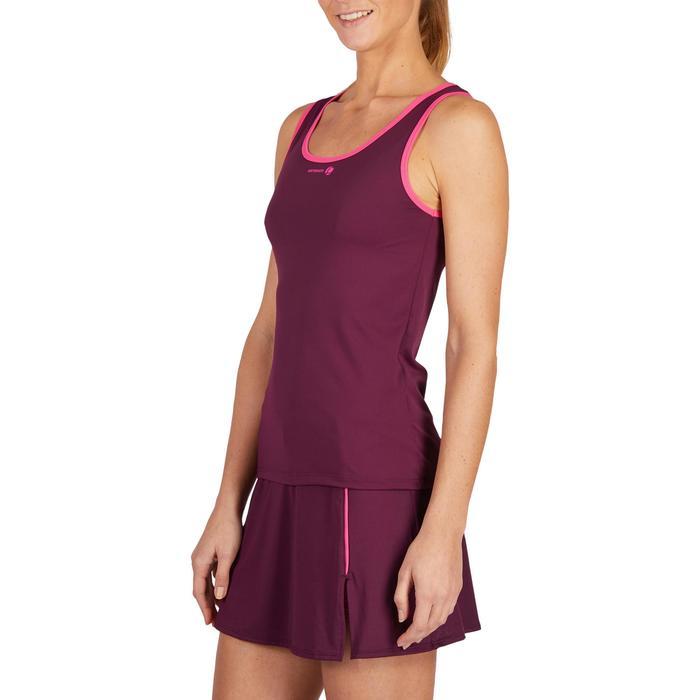 Tennis-Top Soft 500 Damen bordeaux