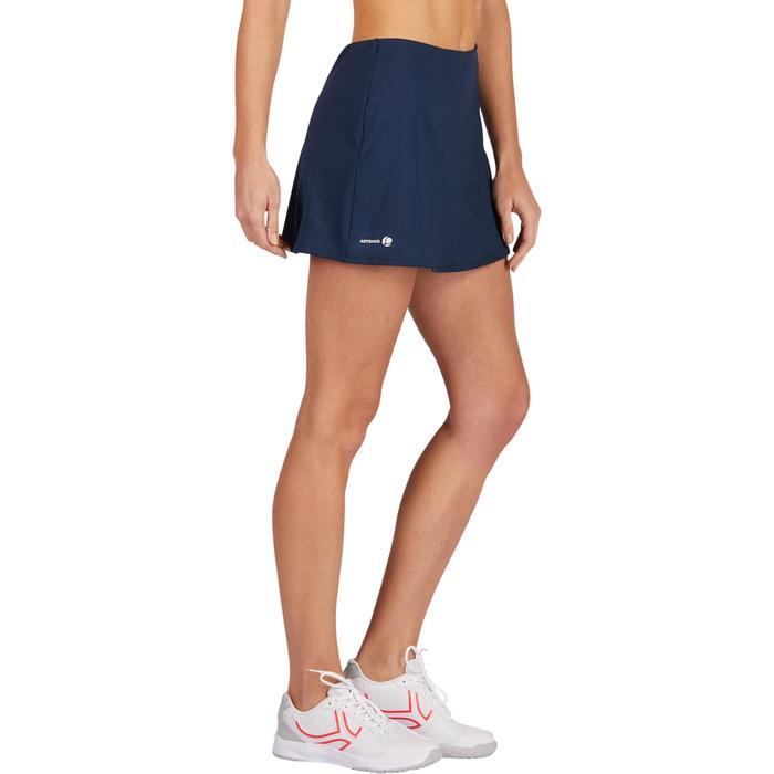 Tennisrock Essential 100 Damen marineblau