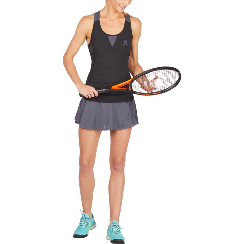 TK Light 990 Women's Tennis Tank Top - Black