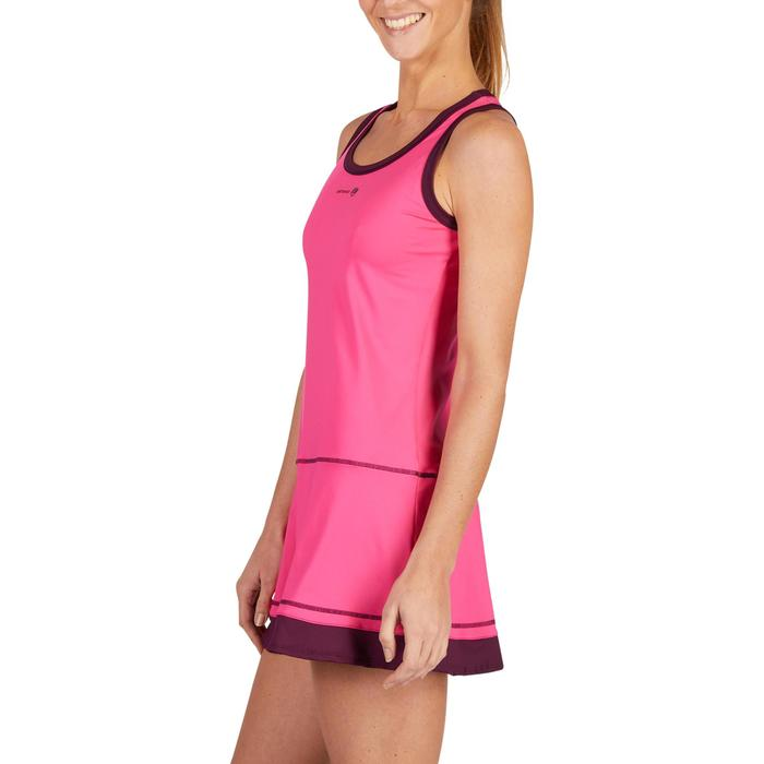 ROBE DE TENNIS SOFT ROSE 500 - 1283656