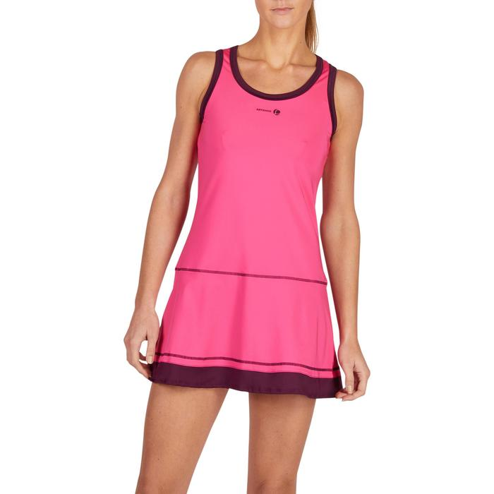 ROBE DE TENNIS SOFT ROSE 500 - 1283676