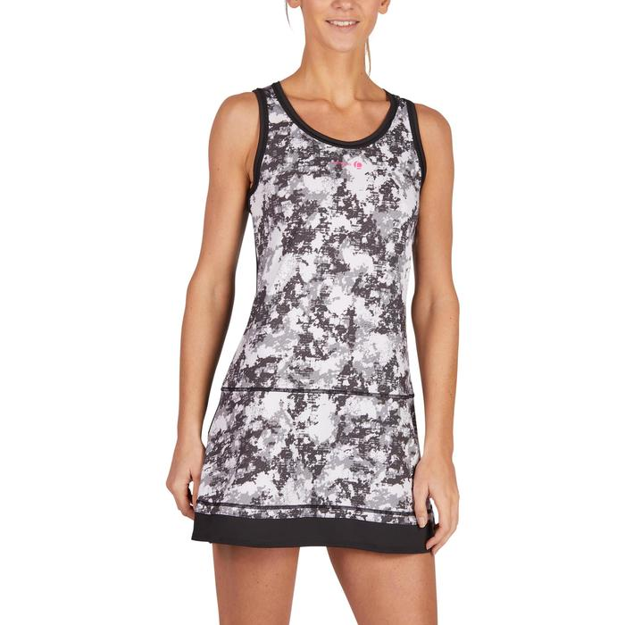 ROBE DE TENNIS SOFT NOIR GRAPH 500 - 1283699