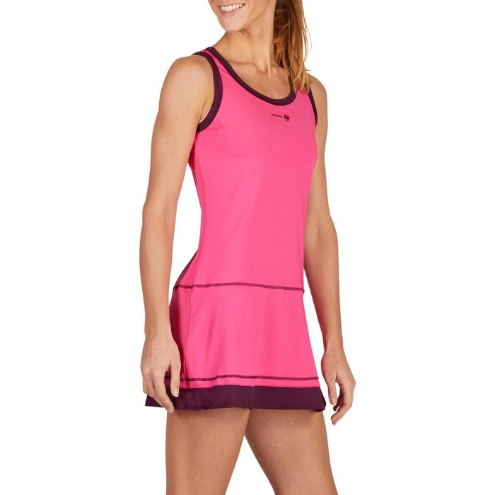 ROBE DE TENNIS SOFT ROSE 500 - 1283710