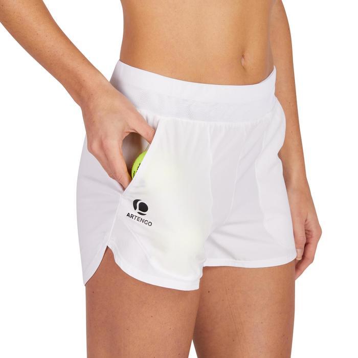 Shorts SH Soft 500 Tennis Damen weiß