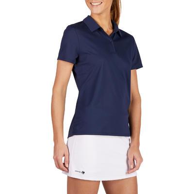 Essential 100 Women's Tennis Polo - Navy