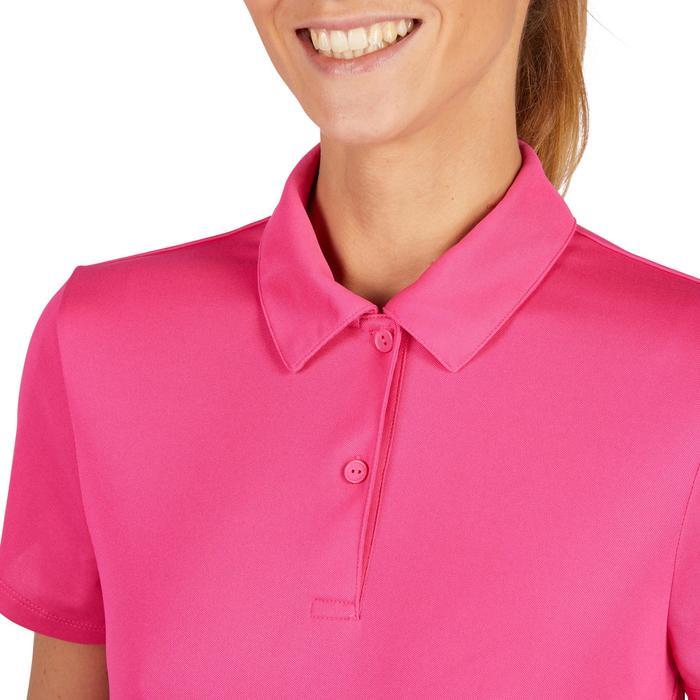 Poloshirt Essentiel 100 Tennis Damen rosa
