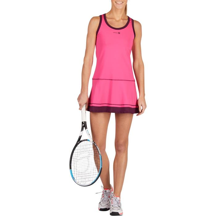 ROBE DE TENNIS SOFT ROSE 500 - 1283797