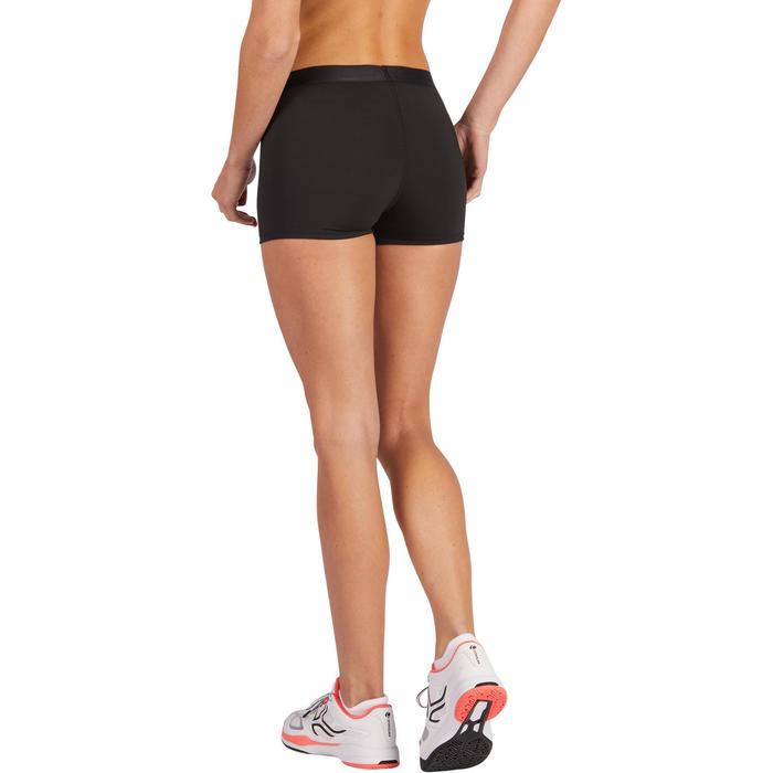 Tennishose Shorty Essentiel 100 Damen schwarz
