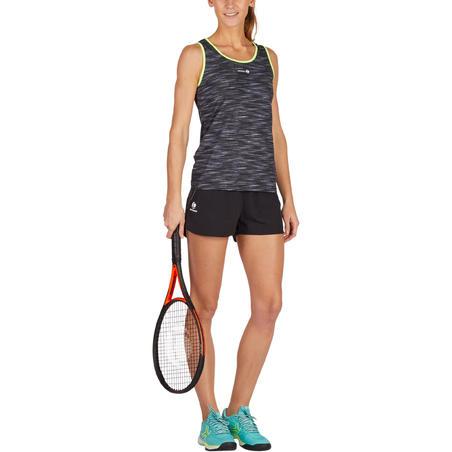 Soft 500 Women's Tennis Tank Top - Mottled Grey