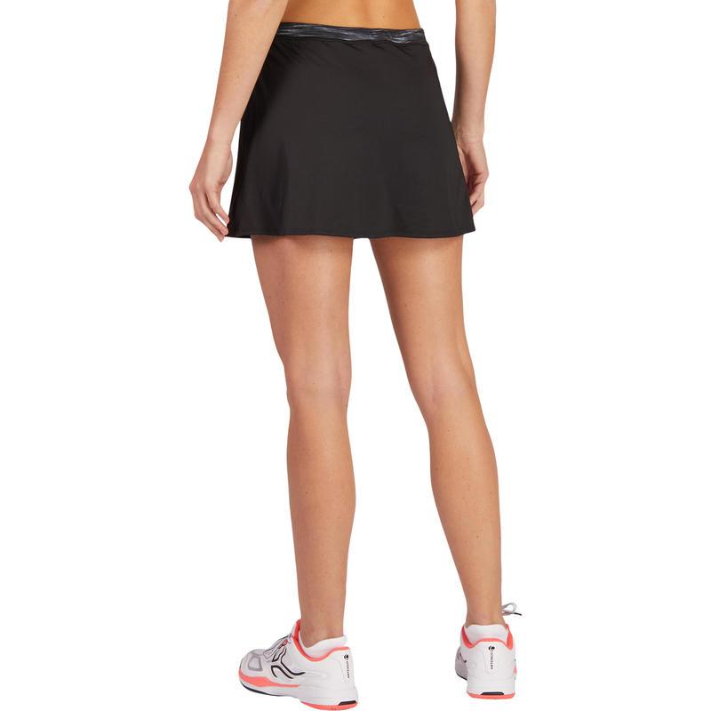 Váy tập Tennis, Cầu lông, Bóng bàn Soft 500 - Đen