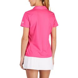 Tennispolo dames Essentiel 100 roze
