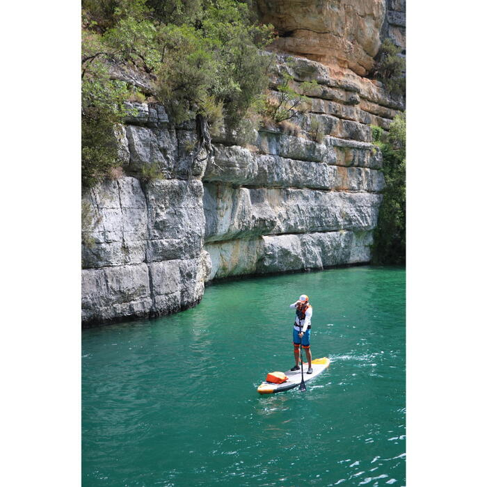 PALA STAND UP PADDLE 900 CARBONO DESMONTABLE AJUSTABLE 170-210 CM NEGRO