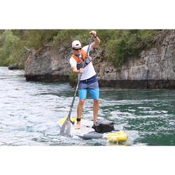 900 Adjustable and Detachable Carbon Stand-Up Paddle Paddle 170-210 cm - Black