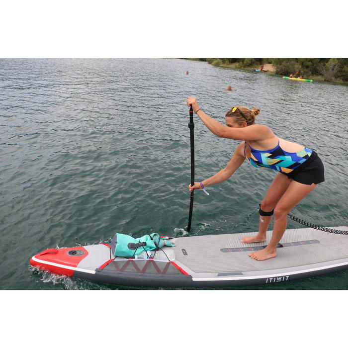 PAGAIE STAND UP PADDLE 900 CARBONE DEMONTABLE REGLABLE 170-210 CM NOIRE - 1283855