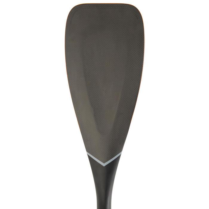 Verstelbare sup-peddel 900 carbon 170-210 cm zwart