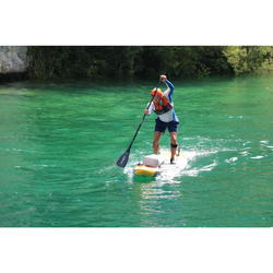 900 Adjustable Carbon Stand-Up Paddle Paddle 170-210 cm - Black