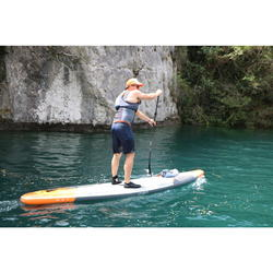 PAGAIE STAND UP PADDLE 900 CARBONE REGLABLE 170-210 CM NOIRE